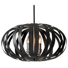Chandeliers Woodstock Large Pendant by Murray Feiss