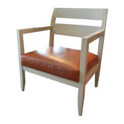 Mid-century Lacquered Chairs - A Pair -