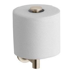 KOHLER - KOHLER K-14444-BV Purist Toilet Tissue Holder in Vibrant Brushed Bronze - KOHLER K-14444-BV Purist Toilet Tissue Holder in Vibrant Brushed Bronze