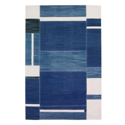 EcoFirstArt - Ocean Denim Carpet - You know how you have that perfect pair of jeans that fits just right, and how sometimes it's the starting point for the rest of your stylish look? This delightful rug works the same way for your space. You won't be the only one rocking casual comfort.