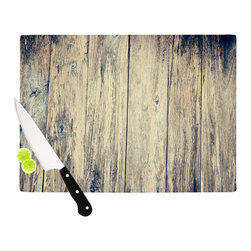 "Kess InHouse - Beth Engel ""Wood Photography II"" Cutting Board (11"" x 7.5"") - These sturdy tempered glass cutting boards will make everything you chop look like a Dutch painting. Perfect the art of cooking with your KESS InHouse unique art cutting board. Go for patterns or painted, either way this non-skid, dishwasher safe cutting board is perfect for preparing any artistic dinner or serving. Cut, chop, serve or frame, all of these unique cutting boards are gorgeous."