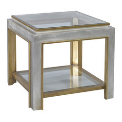 Lillian August - Lillian August Oliver Side Table LA13320-01 - The oliver side table makes a great companion piece to the. Oliver cocktail, dimensioned to be an excellent lamp table at sofa ends or between a sofa and loveseat.