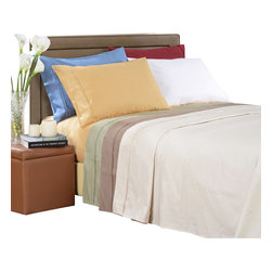 Bed Linens - Egyptian Cotton 1000 Thread Count Stripe Sheet Sets Full Taupe - 1000 Thread Count Stripe Sheet Sets