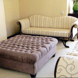 Furniture Range - Chaise Lounges, Ottomans, Couches - Nefertiti Designs