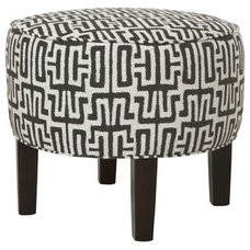 Contemporary Ottomans And Cubes by Cisco Home