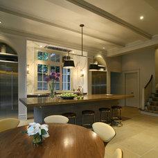 Contemporary Kitchen by Pursley Dixon Architecture