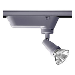 Juno Lighting - Trac-Master T401 Universal Low Voltage MR16 Track Light, T401sl - The Universal halogen spotlight can be used for an exposed lamp aesthetic. Use the minimalist Universal fixture as a do everything basic lampholder.