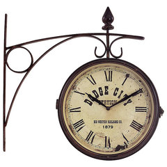 eclectic clocks by Overstock