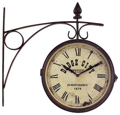 Eclectic Clocks by Overstock.com