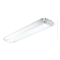 FSC - FSC 6-ft Tandem Side Mount Strip, 4 x 25W T8, Two Ballasts - The 8400 series is a functional multi-purpose side mount strip that can be installed using various mounting methods. Ideal for warehouses, garages, utility rooms, and production lines.