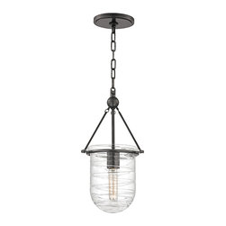 HUDSON VALLEY LIGHTING - Hudson Valley Lighting Willet-Semi Flush Old Bronze - Free Shipping