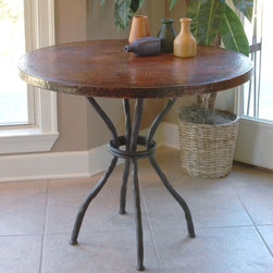 Woodland Bistro Table by Mathews & Co. - Dimensions: (length x width x height)