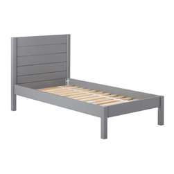 Uptown Bed, Gray - I like the simple, straightforward style of this bed. And it looks classic in gray.