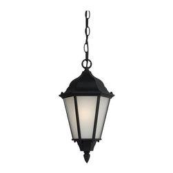 Sea Gull Lighting - Sea Gull Lighting 60938BLE Bakersville 1 Light Outdoor Pendant - Specifications: