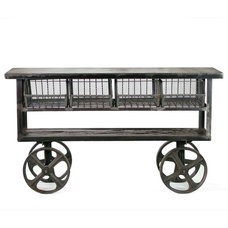 Industrial Console Tables by CRASH Industrial Supply