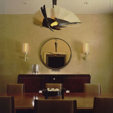 Traditional Dining Room by Peace Design