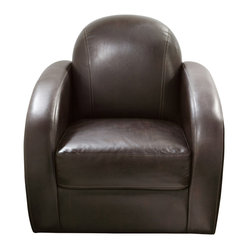 Stetson Low Profile Swivel Chair by Diamond Sofa