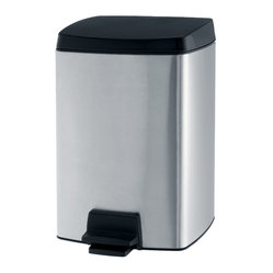 Brabantia Pedal Bin, Rectangular, 2.64 Gallon