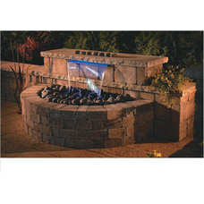 Modern Outdoor Fountains And Ponds by Necessories™  Kits for Outdoor Living