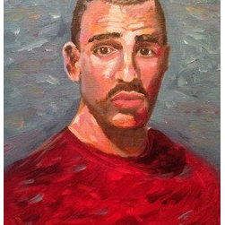 Kenneth (Original) by Eric Yarbrough - Portrait of a young gay man in New York City