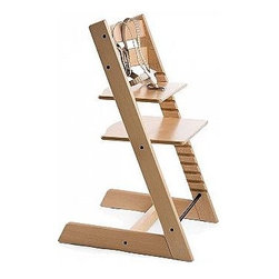 Natural Tripp Trapp - If you want a high chair, then this is a great one. You can adjust it as your child grows. It's made out of wood, easy to clean and just cool looking.