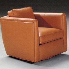 Thayer Coggin Stockton Memory Swivel Chair
