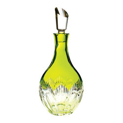 Waterford - Waterford Mix ology Neon Lime Green Decanter - Waterford Mix ology Neon Lime Green Decanter