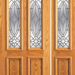 "Prehung Mahogany Sidelite Door, Twin Lite Entry , Decorative Glass - SKU#    101-A-1-1Brand    AAWDoor Type    ExteriorManufacturer Collection    Unique Entry DoorsDoor Model    Door Material    WoodWoodgrain    MahoganyVeneer    Price    2170Door Size Options    [30""+12"" x 80""] (3'-6"" x 6'-8"")  $0[30""+18"" x 80""] (4'-0"" x 6'-8"")  $0[32""+12"" x 80""] (3'-8"" x 6'-8"")  $0[32""+18"" x 80""] (4'-2"" x 6'-8"")  $0[36""+12"" x 80""] (4'-0"" x 6'-8"")  +$20[36""+18"" x 80""] (4'-6"" x 6'-8"")  +$20[42""+12"" x 80""] (4'-6"" x 6'-8"")  +$150[42""+18"" x 80""] (5'-0"" x 6'-8"")  +$150Core Type    SolidDoor Style    TraditionalDoor Lite Style    Twin Lite , 2/3 LiteDoor Panel Style    2 Panel , Raised MouldingHome Style Matching    Colonial , Plantation , VictorianDoor Construction    Engineered Stiles and RailsPrehanging Options    PrehungPrehung Configuration    Door with One SideliteDoor Thickness (Inches)    1.75Glass Thickness (Inches)    3/4Glass Type    Triple GlazedGlass Caming    BlackGlass Features    Insulated , TemperedGlass Style    Glass Texture    Glue ChipGlass Obscurity    Moderate ObscurityDoor Features    Door Approvals    FSCDoor Finishes    Door Accessories    Weight (lbs)    510Crating Size    25"" (w)x 108"" (l)x 52"" (h)Lead Time    Slab Doors: 7 daysPrehung:14 daysPrefinished, PreHung:21 daysWarranty    1 Year Limited Manufacturer WarrantyHere you can download warranty PDF document."