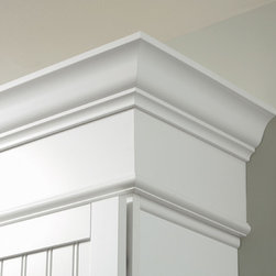 Aristokraft Crown Moulding - Aristokraft goes to great lengths to add finishing touches to your space. Stack crown moulding to get  the look that's perfect for you.