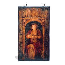 Koenig Collection - Madonna Mural Art Panel, Hand Painted Madonna - Madonna Mural Art Panel, Hand painted Madonna Mural,