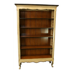 EuroLux Home - New French Country Bookcase in Cherry & - Product Details