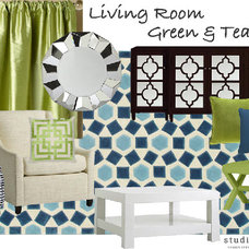 studio | ten | 25 » chic patterned drapes