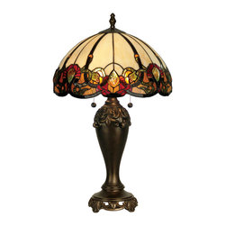 Dale Tiffany - Dale Tiffany TT90235 Northlake Table Lamp - Dale Tiffany TT90235 Northlake Table Lamp
