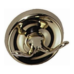 Elizabethan Classics - Robe Hook w Solid Brass Construction - RHCP ( - Finish: ChromeManufacturer SKU: RHCP. Pictured in Polished Brass. Robe Hook. Solid brass construction