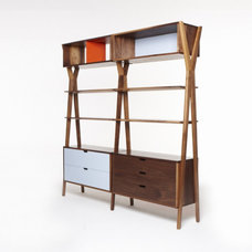 Eclectic Storage Cabinets by Dare Studio