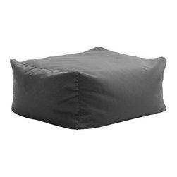 Milan Direct - Kalahari Harle Outdoor Ottoman - Grey - Top Quality Long-Lasting Beanbags Main Features:-  Luxurious Beanbag Ottoman-  Fade Resistant-  Amazingly Comfortable!