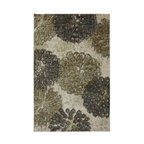 Mohawk - Contemporary Poppy Oversize 8'x10' Rectangle Taupe-Beige Area Rug - The Poppy Oversize area rug Collection offers an affordable assortment of Contemporary stylings. Poppy Oversize features a blend of natural Taupe-Beige color. Machine Made of Nylon the Poppy Oversize Collection is an intriguing compliment to any decor.