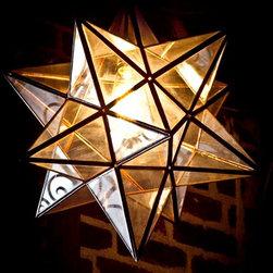 Beautiful Exotic pendant lights - Star pendant light.