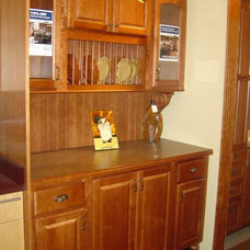 Traditional Kitchen Cabinetry by Fingerle Lumber