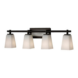 Murray Feiss - 4 Bulb Oil Rubbed Bronze Vanity - - UL Damp Approved.