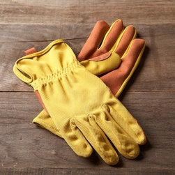Bamboo Gardening Gloves - Keep your hands well protected in these stylish gardening gloves.