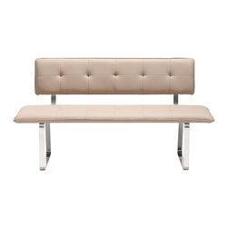 Nouveau Bench by Zuo Modern -