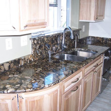 Kitchen Countertops by Creative Karpet & Kitchen Designs, Inc.