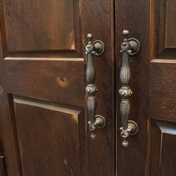 Liberty door series an up close and personal view of a rustic hickory liberty door this door for Prehung hickory interior doors