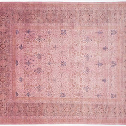 Color Reform Rug - This light pink rug would add the perfect amount of feminine to a space without being overwhelming.
