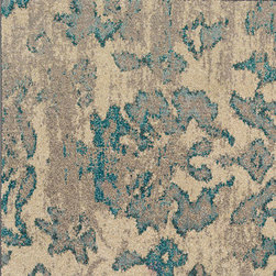 Oriental Weavers - kaleidoscope atoll carpet (6x9) - The kaleidoscope collection is cross-woven of polypropylene and boasts up to 65 colors per rug. Designs showcase a dramatic array of bright, vibrant colors such as sunshine yellow, tangerine, hot pink and bright poppy while ultramarine blue, citron and chartreuse round out the assortment giving the playful colors more drama. In this collection more is definitely more; shade upon shade, texture upon texture, it offers an antiqued yet modern aesthetic.