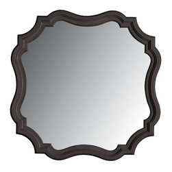 Stanley - Coastal Living Retreat Piecrust Mirror, Gloucester Grey - Delicious in a bedroom, this unique wall mirror is sweet.