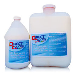 Direct Colors Inc. - Residential Concrete Floor Wax and Polish, 5 Gallons - Residential Wax Size: 5 Gallons