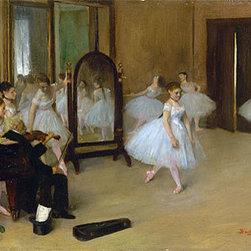 The Dancing Class, c.1870/71 | Edgar Degas | Canvas Prints - Condition: Unframed Canvas Print