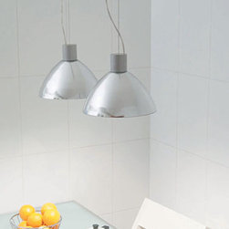 Luna Pendant Lamp By Modiss Lighting - Luna by Modiss is a series of suspension lamps that uses real metal as a diffuser.